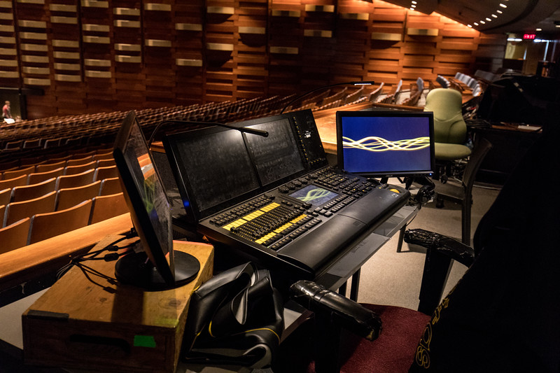The Soundboard in the Performance Hall
