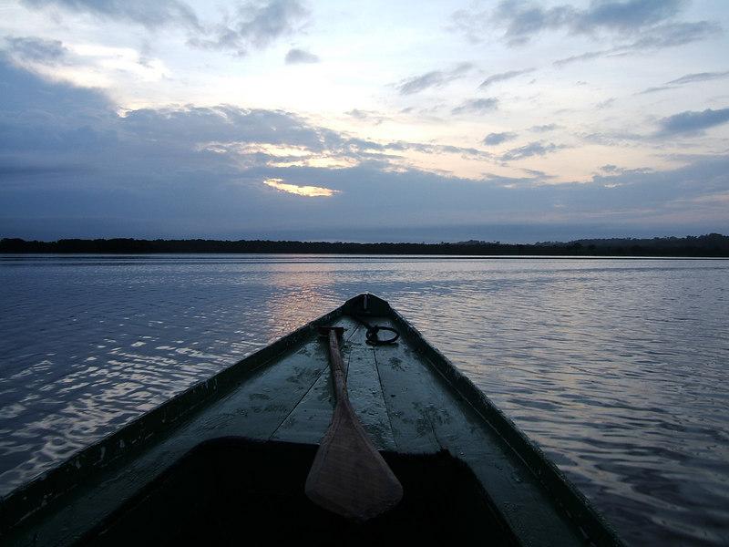 Day 3 - Manaus - Sunrise on the Rio Negro.