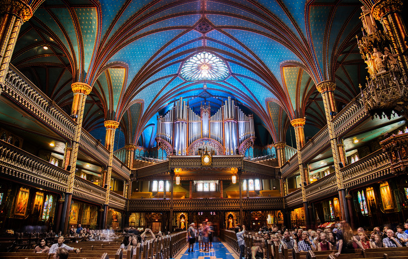 The Amazing Organ at Notre-Dame in Montreal