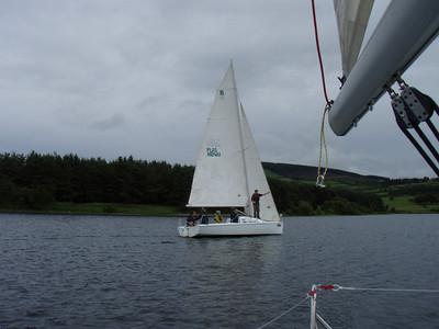 Sailing in Blessington