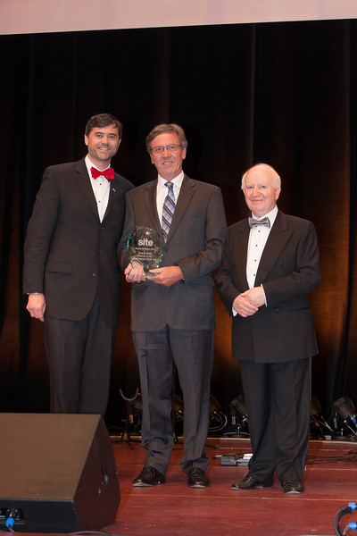 Joost de Mayer, Chairman and CEO of First Incentive Travel, collected the Site Master Motivator Award