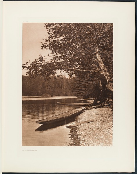 The North American Indian, vol. 9 suppl., pl. 297. On Quinault River