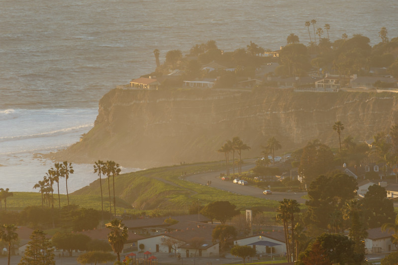 View of the coastal area of Rancho Palos Verdes and Pacific Ocean in California - 217 Rocky Point Road, Palos Verdes Estates, California, United States (US)