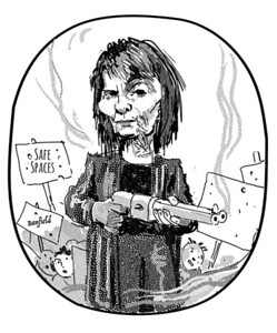 Camille Paglia, from the Claremont Review of Books, Winter 2019