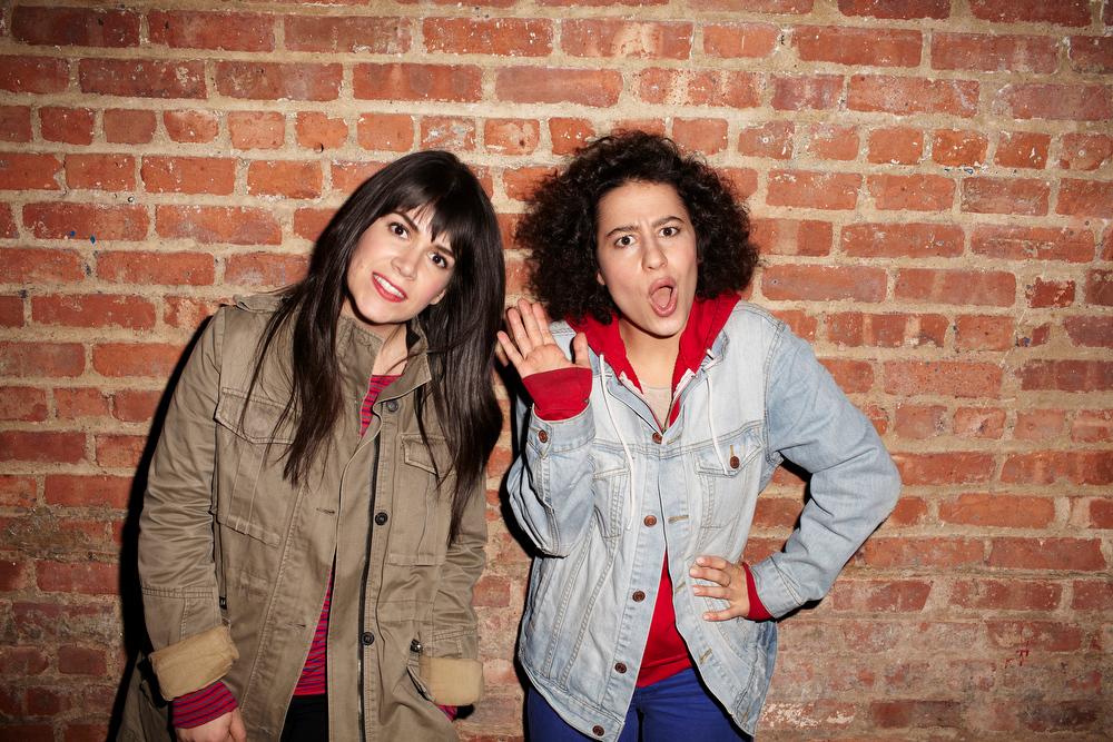 ". Abbi Jacobson and Ilana Glazer (l-r) \""Broad City.\"" (Photo by Lane Savage)"