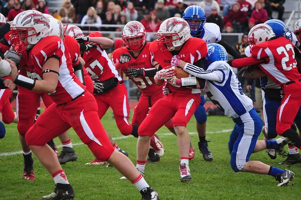 Drury vs Hoosac Valley Football - 102613