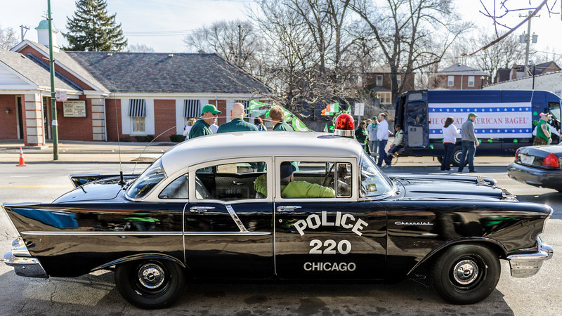 Flossmoor St. Patrick's Day - Marching in the Beverly Southside Irish Parade 2012
