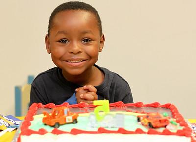 Isaiah's 5th Birthday!