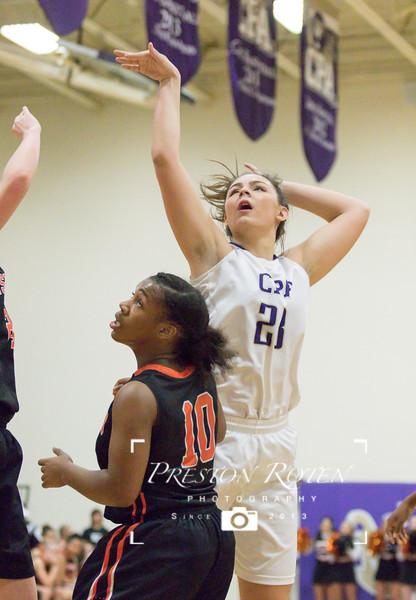 HS Girls Basketball vs. Ensworth 2017