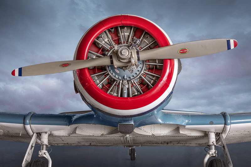 KATE replica (modified  AT-6) used in movie Tora, Tora, Tora at Commemorative Air Force Museum in San Marcos, TX.