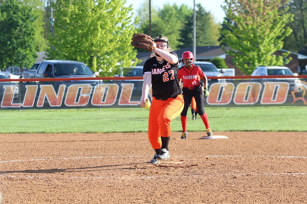 May 6, 2019 - Lincolnwood Softball vs. Central A&M