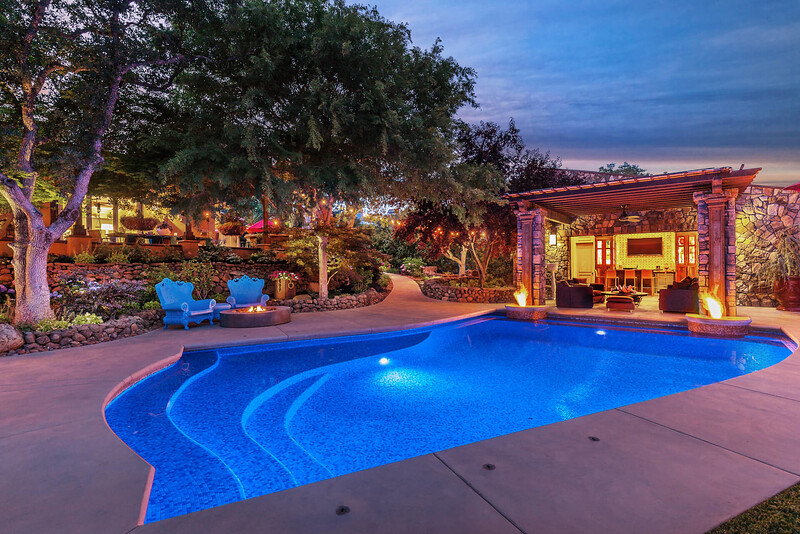 Chico Commercial Photography-Blue-pool-photographed-at-twilight.jpg