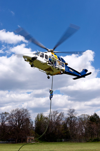 AgustaWestland Priority 1 Air Rescue New Jersey State Police AW139 New Jersey State Police