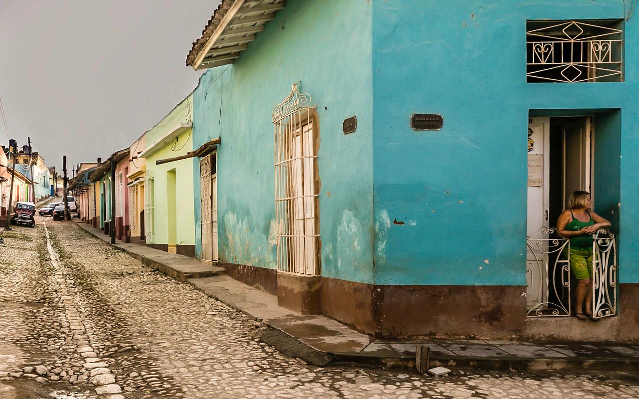 Morning in Trinidad Cuba