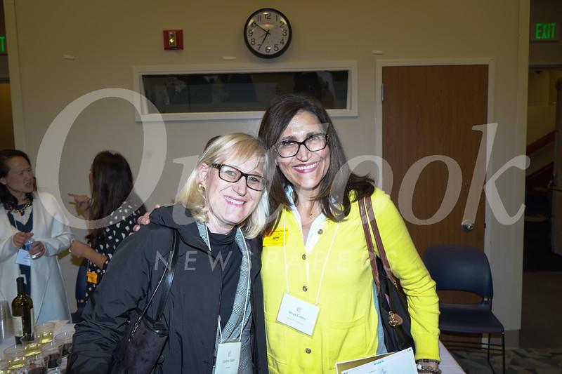 Cindy Sabin and Moya Collins
