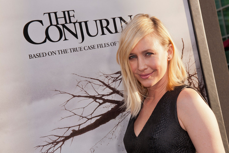 HOLLYWOOD, CA - JULY 15: Actress Vera Farmiga arrives at the Los Angeles Premiere 'The Conjuring' at ArcLight Cinemas Cinerama Dome on Monday, July 15, 2013 in Hollywood, California. (Photo by Tom Sorensen/Moovieboy Pictures)