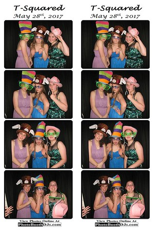 05/28/2017 T-Squared Wedding (PhotoStrips)