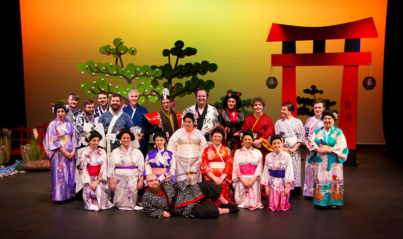 Mikado - Cast Photo