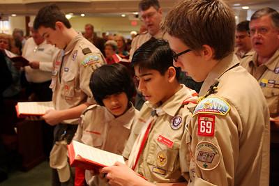 Scout Sunday 2/10/2013