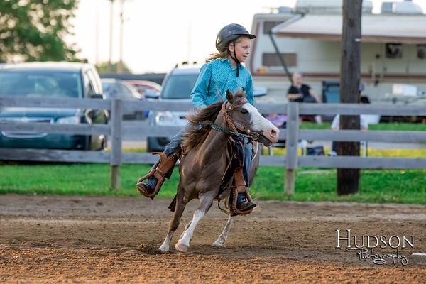 06. Pole Bending Ponies Jr. Rider