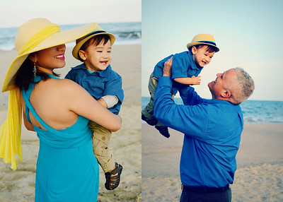 Brandon and Family Beach Shoot