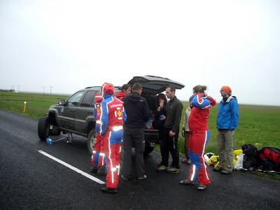 Bílaviðgerð á Þjóðvegi 1
