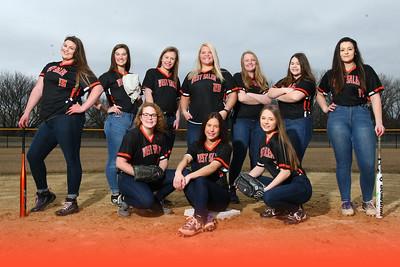 West Salem softball seniors SB20