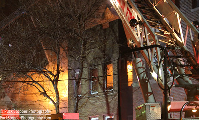 3 Alarm Structure Fire - 213 South 3rd Ave, Mount Vernon, NY - 3/19/17