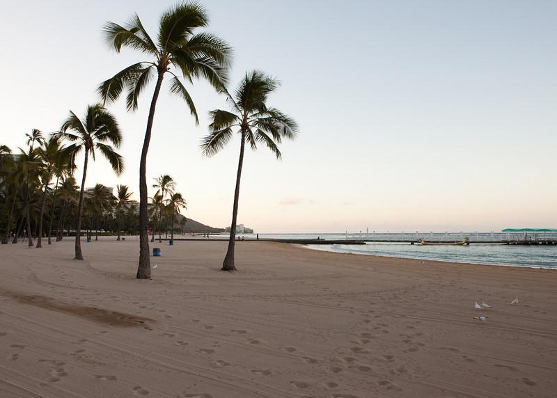 Beach front, Hilton Hawaiian Village