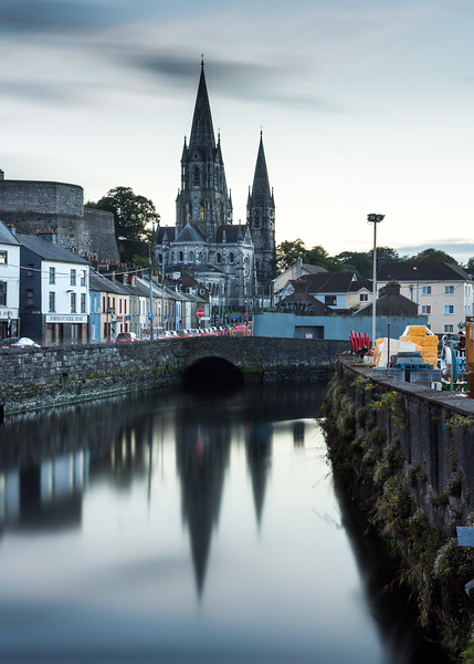 St Fin Barre's Cathedral and the River Lee