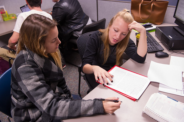 10/27/16 Writing Center in Butler Library