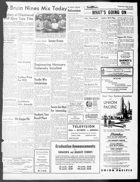 Daily Trojan, Vol. 40, No. 142, May 18, 1949