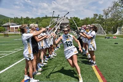 Girls Lacrosse vs Middlebury photos by Gary Baker