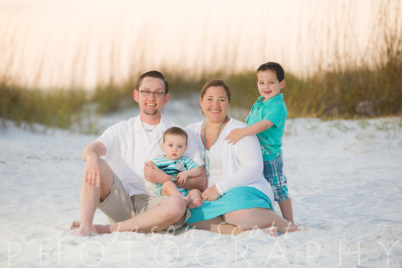 Leitzen Family on Lido Key, April 2014