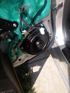 2013 Lexus CT200h Rear Door Speaker Installation  - USA