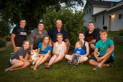 VonSeggern Family Photo
