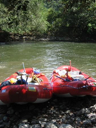 Day 2, Boquete (River Rafting, Los Establos)