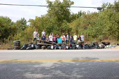 9.21.13 Patapsco River cleanup at Hammond's Ferry Road