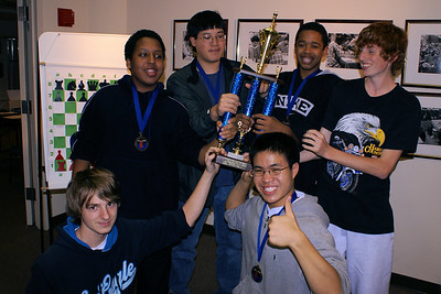 Gonzaga Chess - Washington Chess Center Tournament, 2006