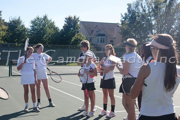 CHCA 2013 Girls MS Tennis 09.23 vs Summit
