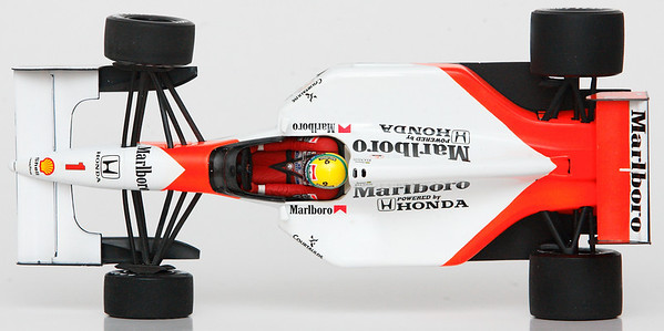 1992 #1 Ayrton Senna Mclaren Honda MP4/7 RACE LIVERY SOLD 1/23/14