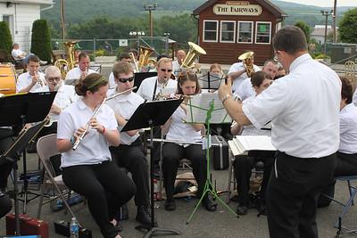 Cressona Band, Heisler's Dairy Bar, Tamaqua (6-26-2011)