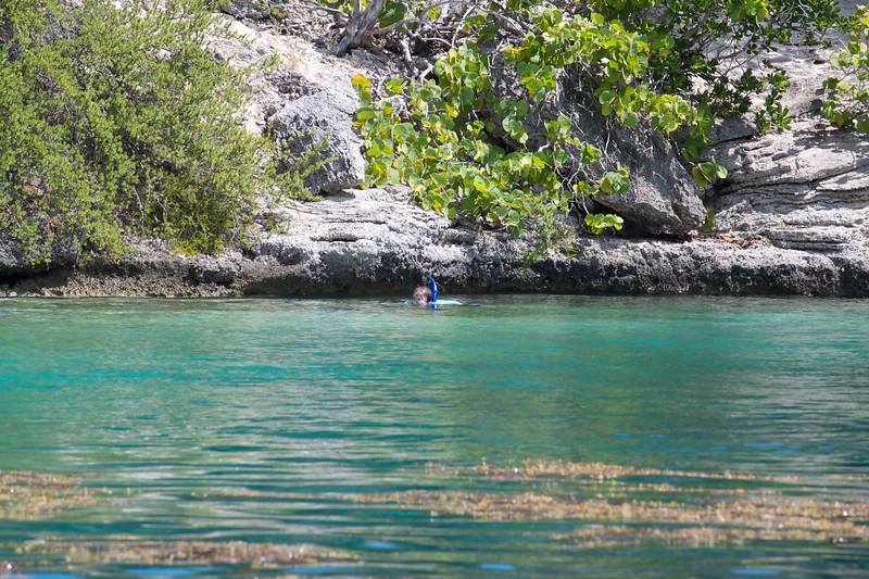 Snorkeling the blue hole
