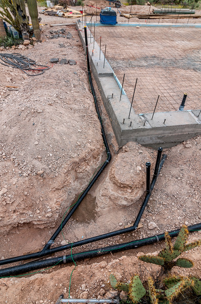 Foundation and Drain Pipes