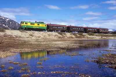 WP&YR - White Pass & Yukon Railroad