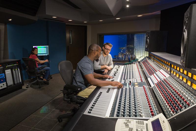 Full Sail Studio A Control