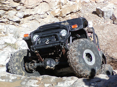New Mexico Rock Crawling