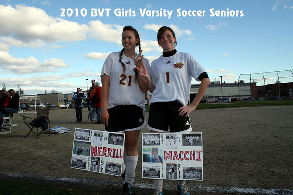 BVT Girls Varsity Soceer Senior Game