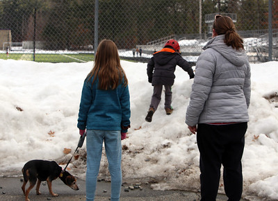 Westford Academy parking lot features 030321