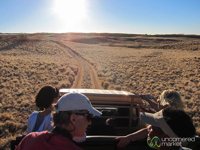 On the Way to the Sundowner - Namib Desert Lodge, Namibia